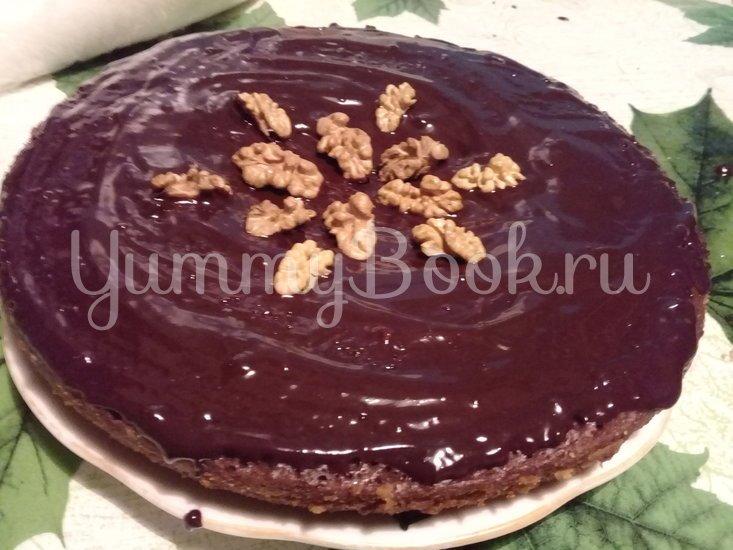 Шоколадный торт с грецкими орехами в мультиварке - шаг 4