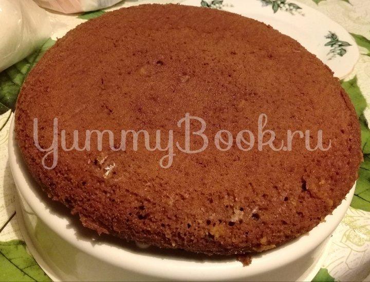 Шоколадный торт с грецкими орехами в мультиварке - шаг 3