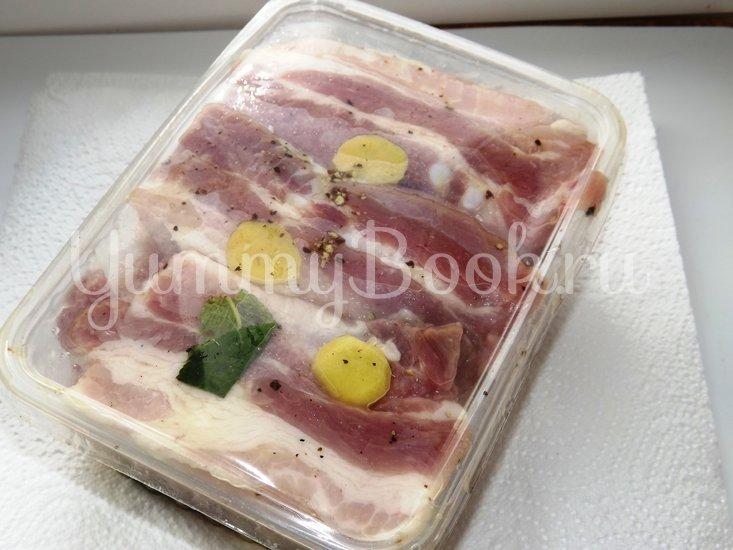 Свиные ребрышки с лимонной цедрой, кориандром и мятой - шаг 5