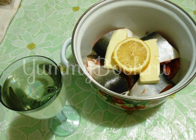 Голец в белом вине - шаг 6