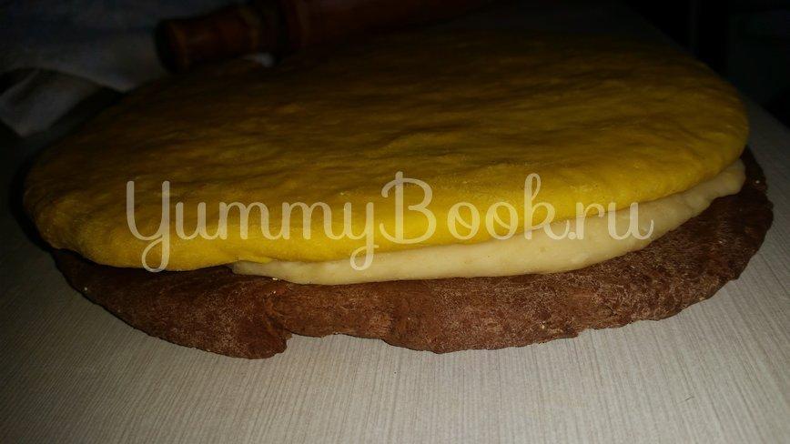 Постный хлеб в духовке на сухих дрожжах - шаг 8