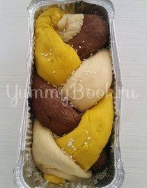 Постный хлеб в духовке на сухих дрожжах - шаг 11