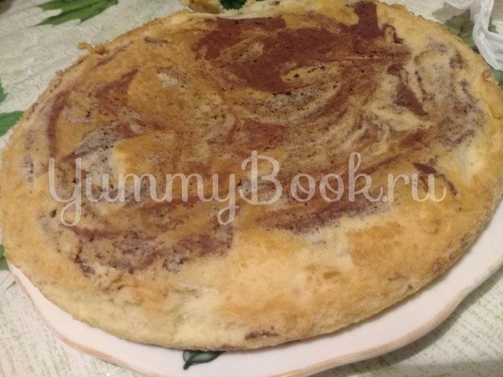 Мраморный пирог в мультиварке - шаг 3