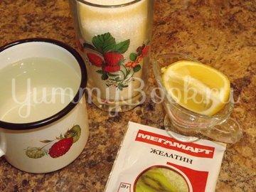 Глазурь сахарная с желатином - шаг 1