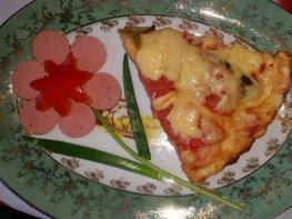 Быстрая пицца (гости на пороге)