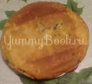 Заливной пирог с луком и яйцами в мультиварке - шаг 3
