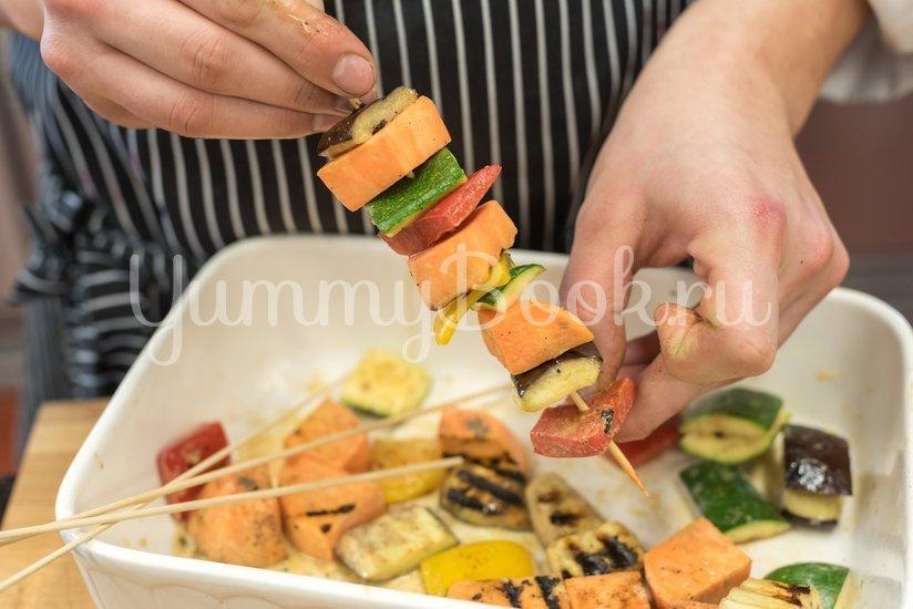 Вегетарианский шашлык из овощей - шаг 3