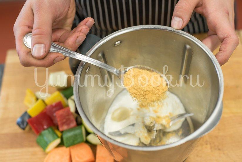 Вегетарианский шашлык из овощей - шаг 1