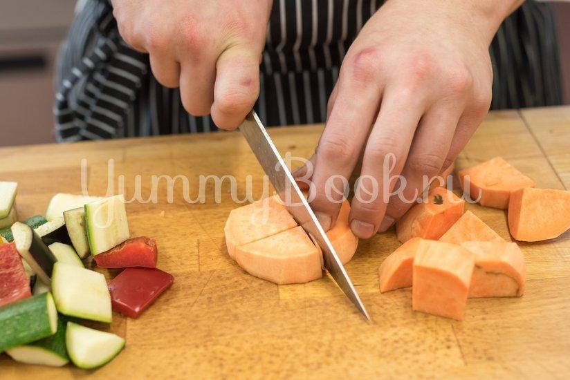 Вегетарианский шашлык из овощей - шаг 2
