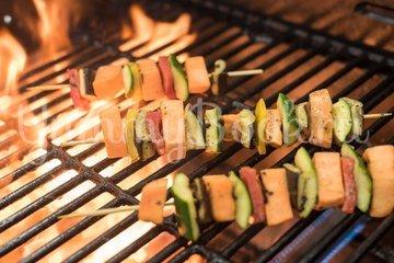 Вегетарианский шашлык из овощей - шаг 4
