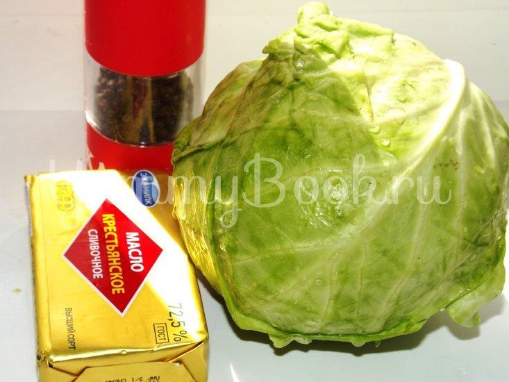 Пирог со свежей рубленой капустой на мамином тесте - шаг 4
