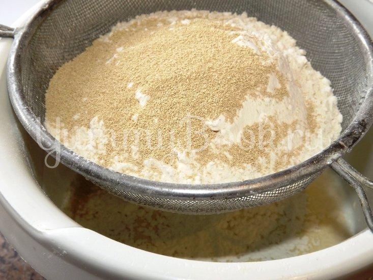 Пирог со свежей рубленой капустой на мамином тесте - шаг 2