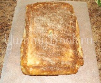Пирог со свежей рубленой капустой на мамином тесте - шаг 12