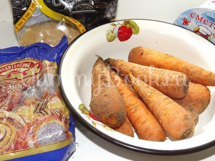 Печеные пирожки с морковью и маком - шаг 2
