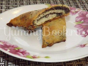 Печеные пирожки с морковью и маком - шаг 13