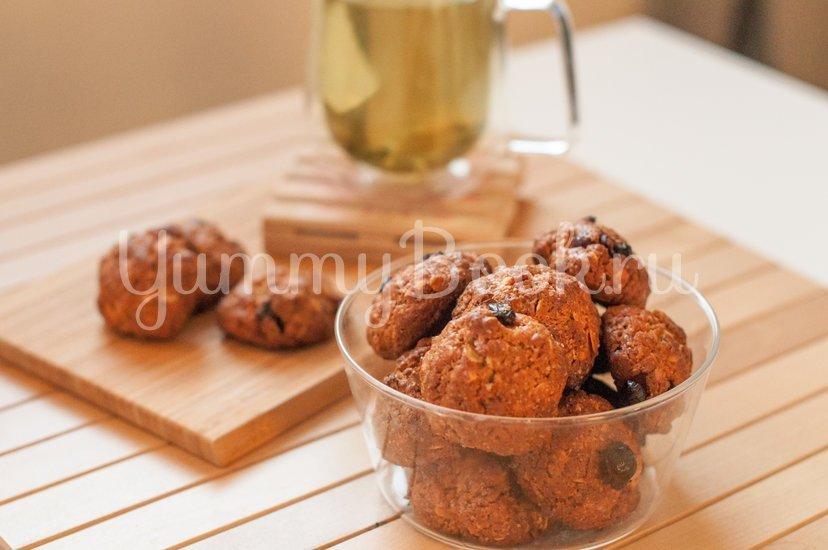 Овсяное печенье с клюквой и миндалем - шаг 6
