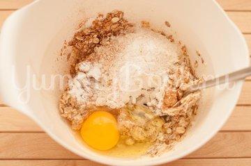 Овсяное печенье с клюквой и миндалем - шаг 2