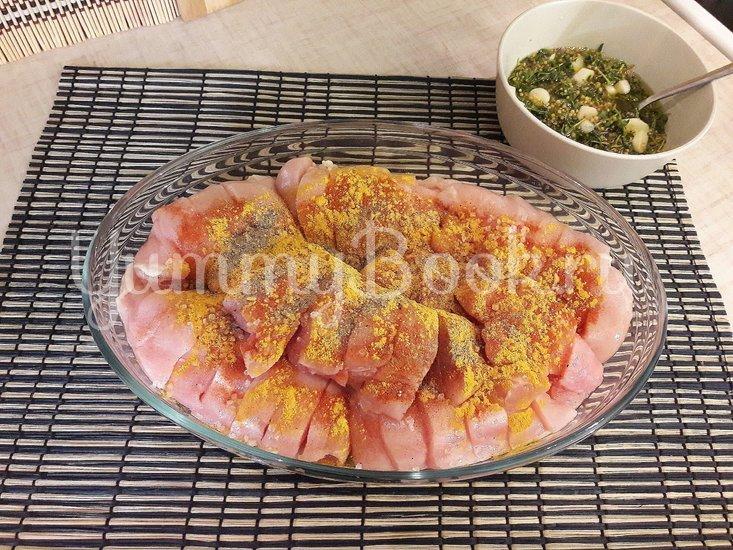 Куриное филе, запечённое с чесноком и тимьяном  - шаг 4