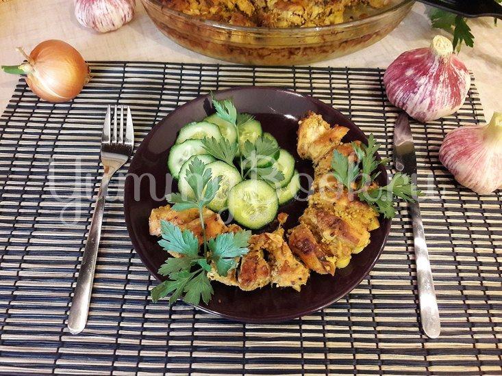 Куриное филе, запечённое с чесноком и тимьяном  - шаг 7
