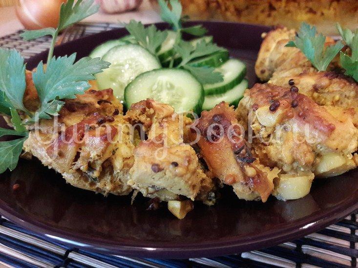 Куриное филе, запечённое с чесноком и тимьяном  - шаг 9