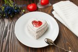 Маково-творожный десерт