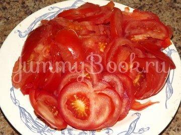 Пицца с помидорами на тесте для итальянской пиццы - шаг 3