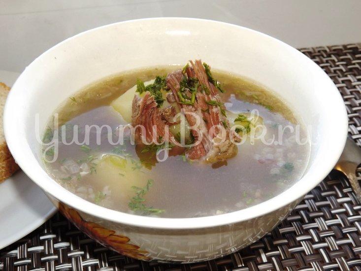 Суп-жаркое из картофеля и тушенки - шаг 6