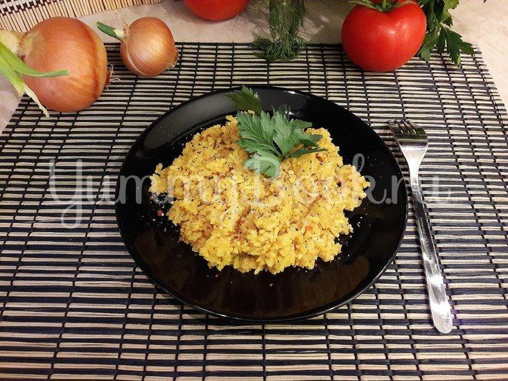 Рис в сковороде - шаг 11