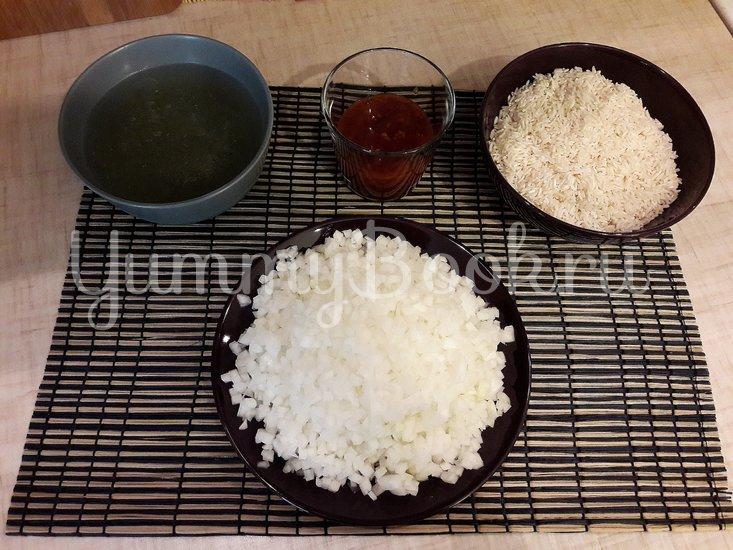 Рис в сковороде - шаг 2