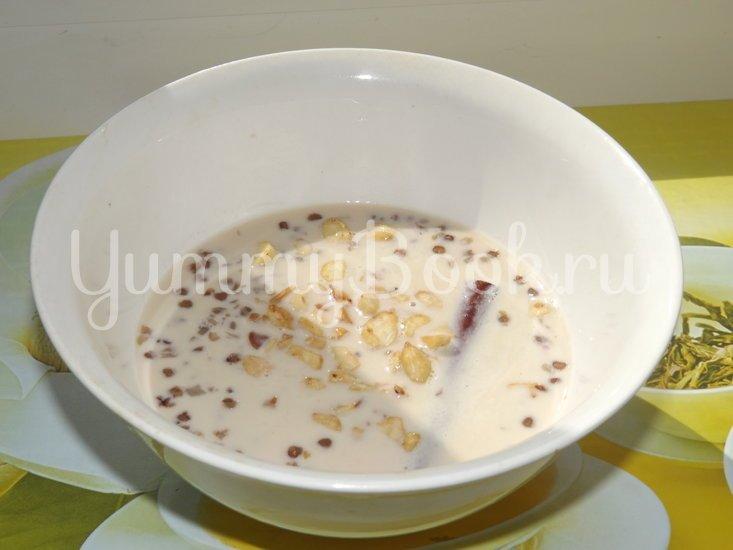 """Пряный гречневый """"суп"""" с орешками - шаг 15"""