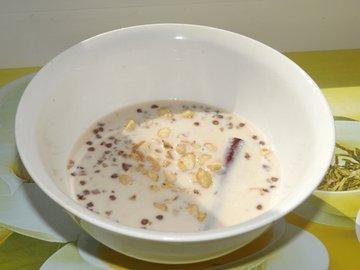 """Пряный гречневый """"суп"""" с орешками"""