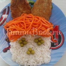 Братец кролик (завтрак для детей) - шаг 5