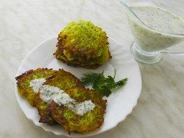 Оладьи из кабачков, классический рецепт