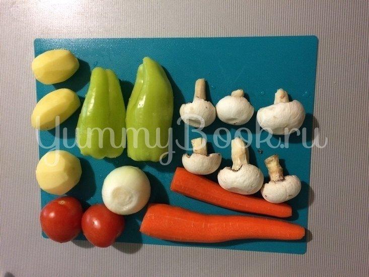 Овощное рагу с бараниной - шаг 6
