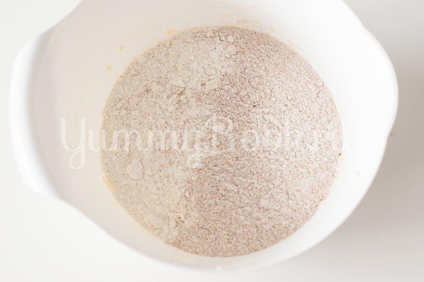 Галета с сыром и грушами - шаг 3
