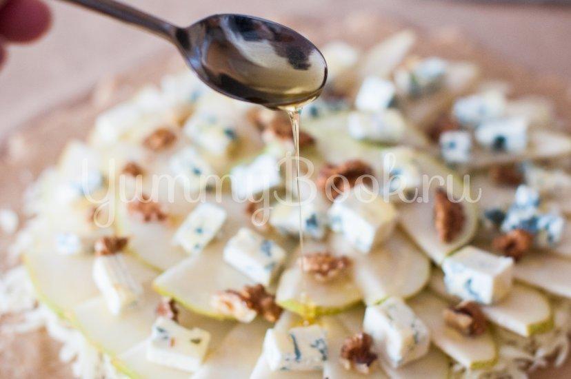 Галета с сыром и грушами - шаг 9