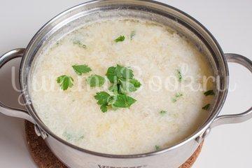 Страчателла, яичный суп - шаг 7