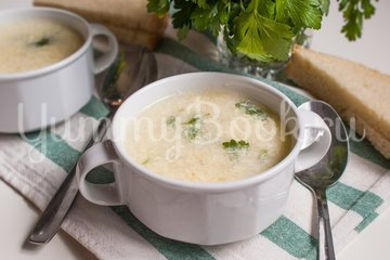 Страчателла, яичный суп - шаг 8