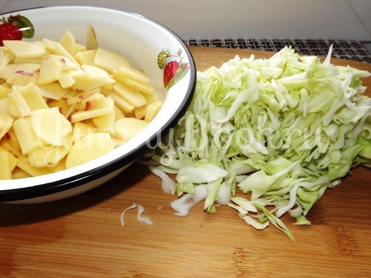 Зеленые щи за 15 минут - шаг 2