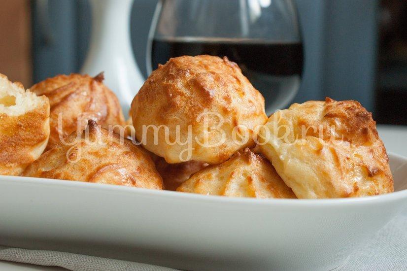 Гужеры - заварные булочки с сыром - шаг 11