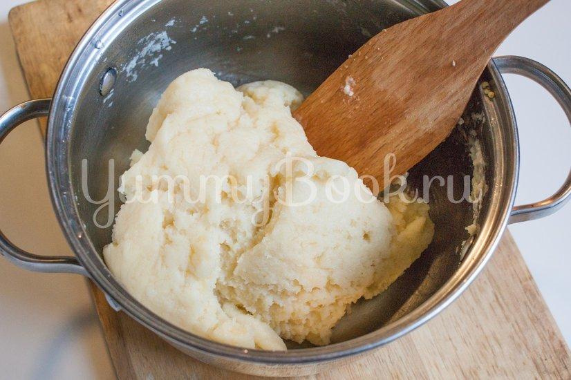 Гужеры - заварные булочки с сыром - шаг 4