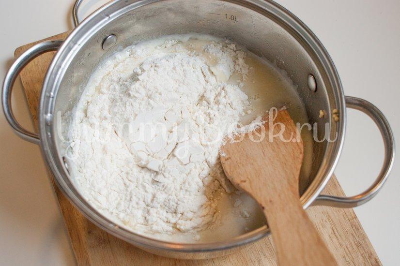 Гужеры - заварные булочки с сыром - шаг 3