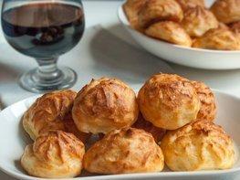 Гужеры - заварные булочки с сыром