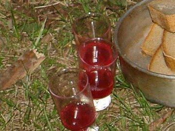 Настойки вишневая и клюквенная