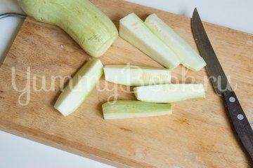 Кабачки в сырной панировке - шаг 4