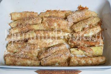 Кабачки в сырной панировке - шаг 8