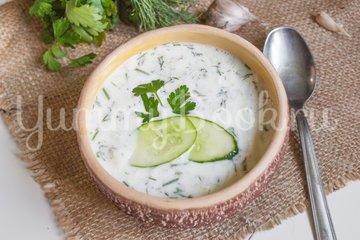 Таратор, холодный суп - шаг 5