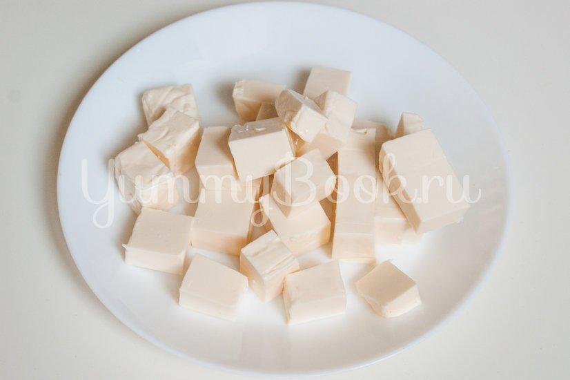 Суп-пюре с зелёным горошком и сыром - шаг 3