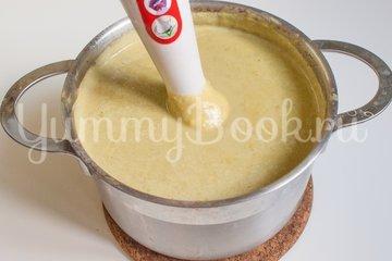 Суп-пюре с зелёным горошком и сыром - шаг 5