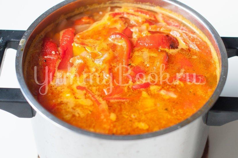 Суп с болгарским перцем - шаг 9